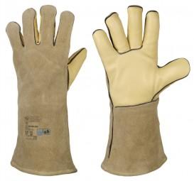 Schweißerhandschuhe, Rindleder-Handschuhe WELDER-PROFI 4