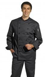 Leiber Kochjacke schwarz