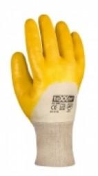 2356 Nitril-HS, gelb, Strickbund, Kat.2