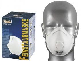 Feinstaubmaske P2 / Ventil / 12 Stück