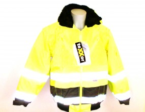 4106 Vancouver Warnschutzjacke- Pilotenjacke gelb