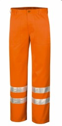 Warnbundhose orange 270 g.