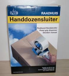 Handabroller für Packband